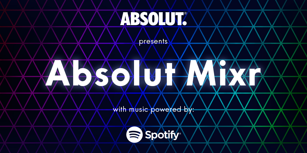 Application Absolut and Spotify