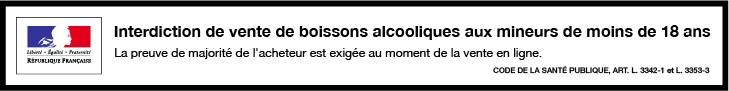 Interdiction vente alcools aux mineurs